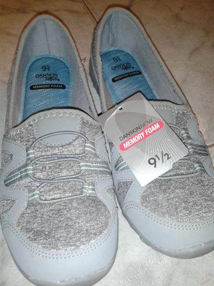 Zapatos Danskin Now Memory Foam Para Damas Talla Us 9.5
