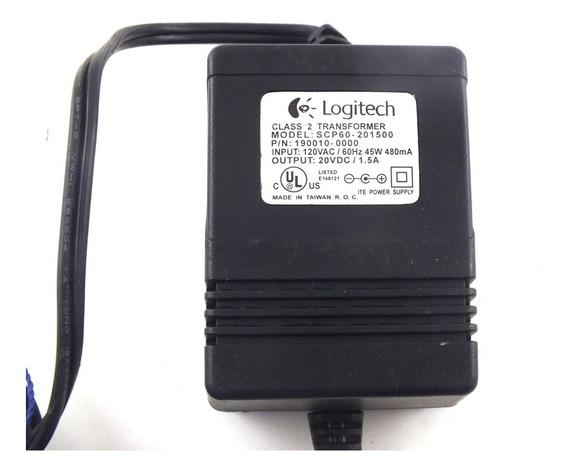 Fonte Logitech Scp60 110v 45w 480mah Saída 20v 1,5ah A9802