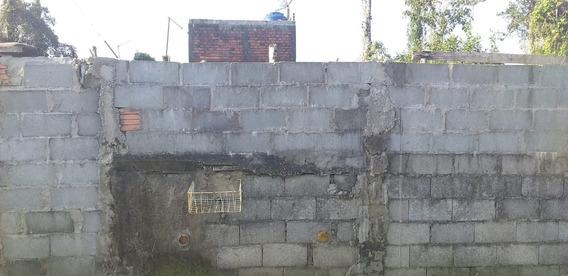 Terreno Com Casa No Fundo Em Mongaguá R$ 100 Mil
