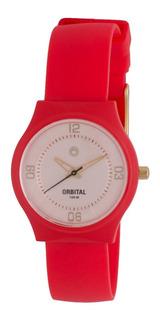Reloj Orbital Junior Silicona Resistente 100m Agente Oficial