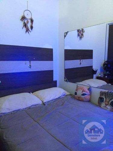 Imagem 1 de 23 de Kitnet Com 1 Dormitório Para Alugar, 26 M² Por R$ 2.000,00/mês - Gonzaga - Santos/sp - Kn0686
