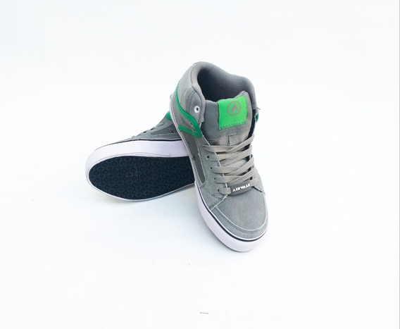 Zapatillas Airwalk (gris/verde)