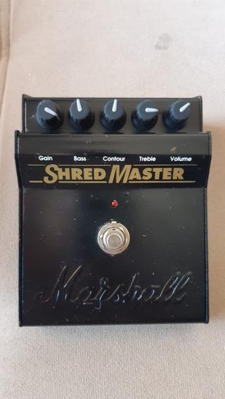 Pedal Marshall Shred Master - Caixa E Manual Originais