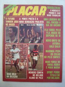 Revista Placar Nº 388 Set/77 Com Poster Vaguinho