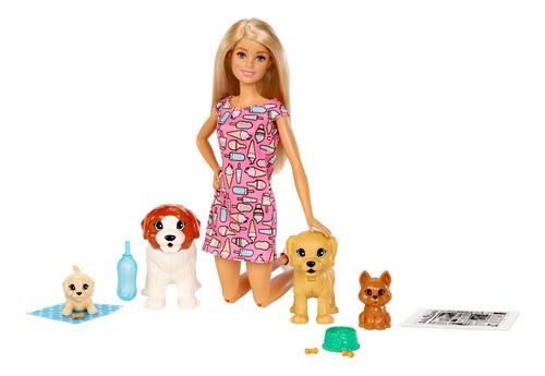 Barbie Familia Familia Guardería Perritos
