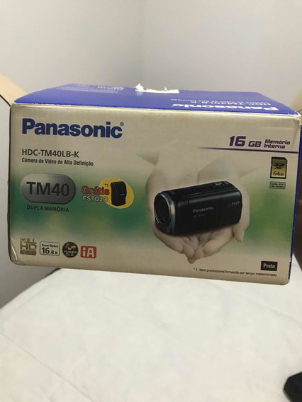 Filmadora Panasonic Tm40lb-k