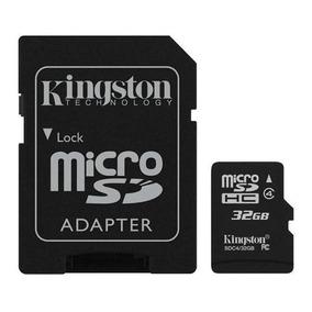 Cartão De Memória Micro Sdhc 32 Gb Com Adaptador Sd Classe 4