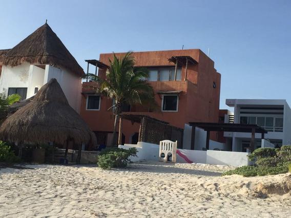 Hermosa Casa En La Playa A La Venta, Chicxulub-telchac