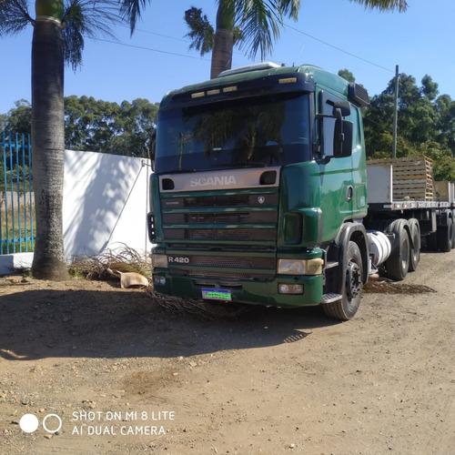 Imagem 1 de 9 de Scania R 420 6x2 Trucado Ano 2007 R$ 170.000.