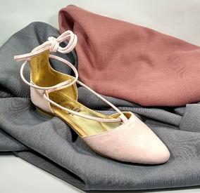 Flats Zapatos Piso Sary 7384 Balerinas Petalo Envio Gratis