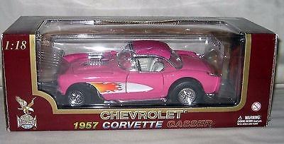 1957 Chevrolet Corvette Hot Pink Dragster 1/18