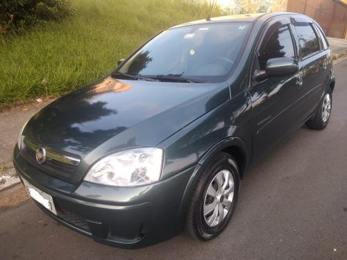 Corsa Hatch Premium 1.4 2008/2009 Cinza