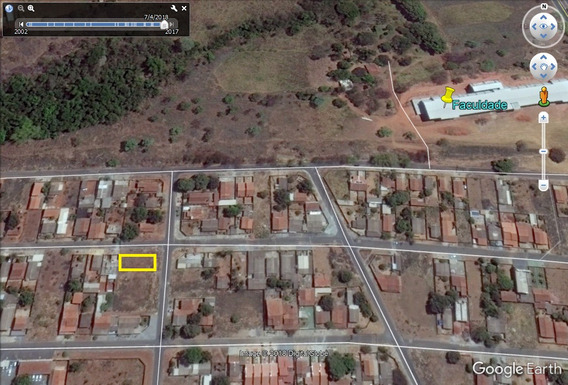 Lote Esquina 360,08m² (asfalto) Setor Conde Dos Arcos