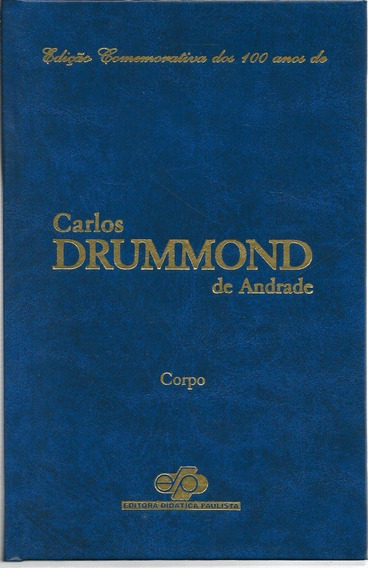 Box Com 10 Livros Carlos Drummond De Andrade Ed Comemorativa
