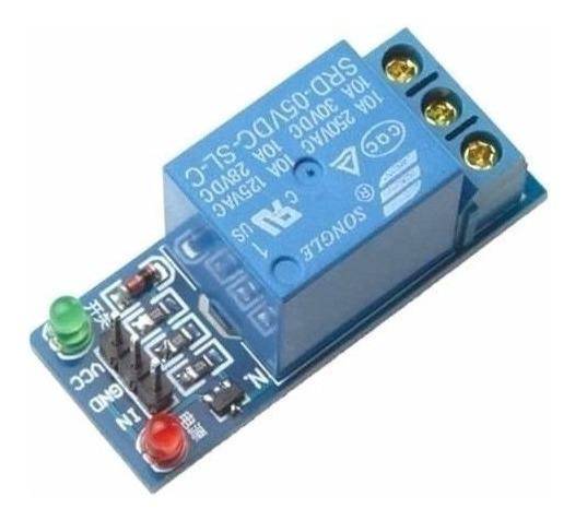 Modulo Shield Rele 1 Canal 5v Arduino Pic Arm Raspberry Pi