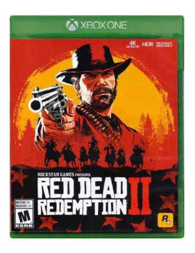 Red Dead Redemption 2 Standard Edition Físico Xbox One Rockstar Games