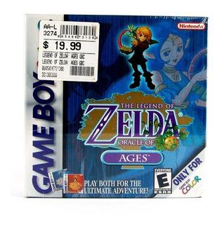 Zelda Oracle Of Ages Game Boy Color Gbc Nuevo Sellado