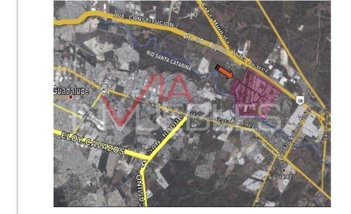 Imagen 1 de 10 de Terreno Comercial En Venta En Vistas Del Río, Juárez, Nuevo