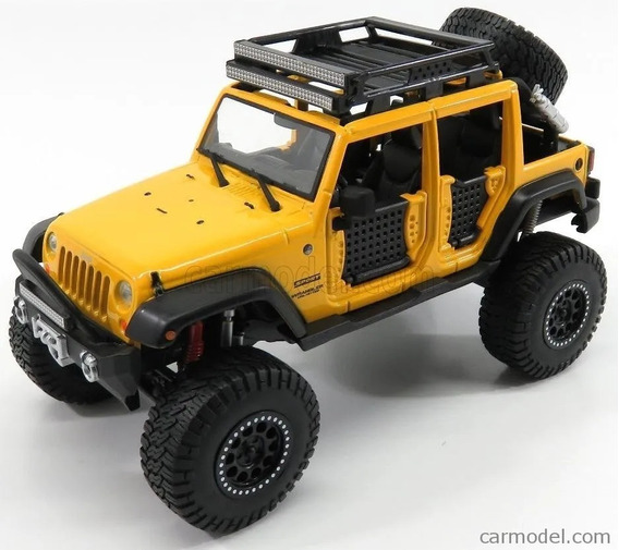 Jeep Wrangler Unlimited 2015 Maisto 1/24 Offroad