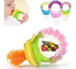 Chupon Alimentador Dispensador Para Bebes Frutas Naturales