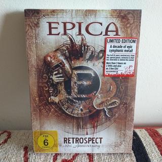 Epica: Retrospect Box ( 2 Dvd + 3 Cds ) Nightwish.