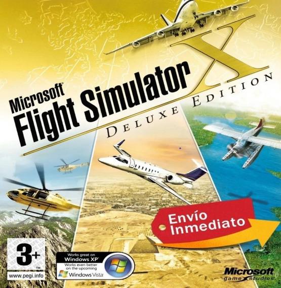 Simulador De Vôo Fsx Completo Em Português + Aeronave