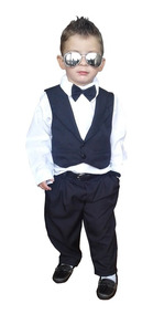 Terno Infantil Menino Roupa Festa Gravata Social 1,2 Anos