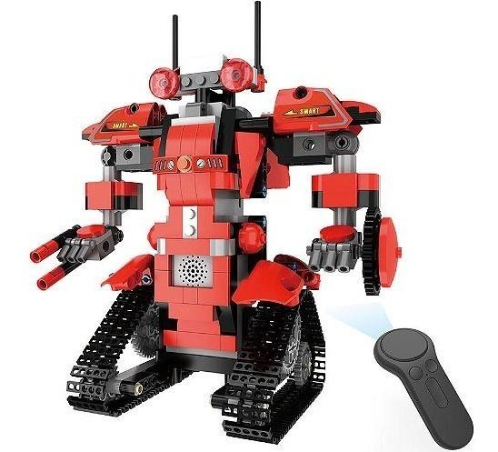 Robô Movido Controle Remoto, Kit Robótica Montagem 392pcs