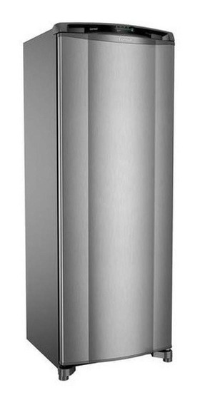 Geladeira frost free Consul CRB39A inox 342L 110V