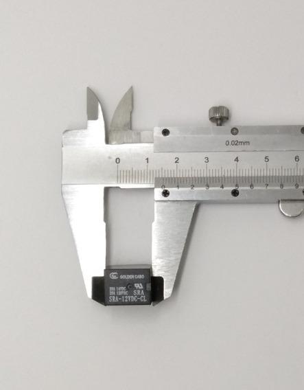 Rele Mini 12v 20a 5 Terminais - 100 Peças