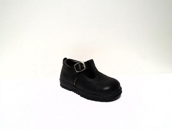 Zapatos Guilerminas Para Nenas De Cuero
