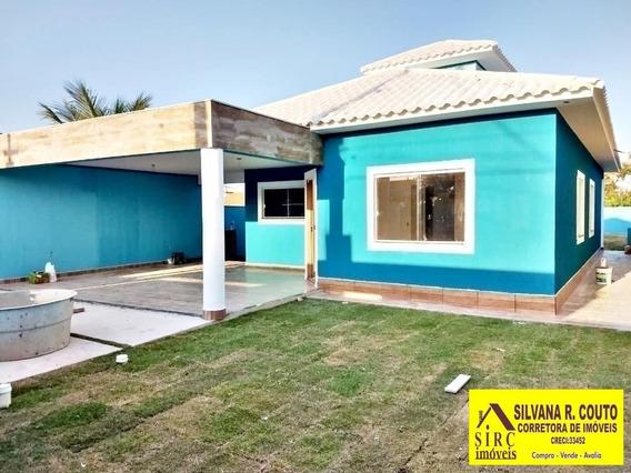 Casa 3 Qts, Terreno Com 480 M² - Itaipuaçu - R$ 500 Mil - 277