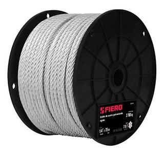 Cable Acero 1/8 7x7 Hilos 75 Mt Fiero 44205