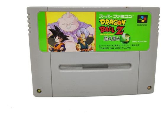 Fita Dragon Ball Z 3 Nintendo Super Famicom Snes Original