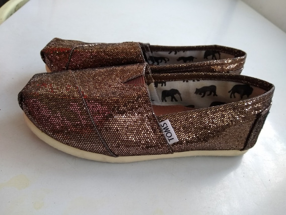 Zapatos Para Niña Toms En Perfecto Estado....poco Uso