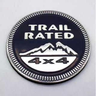 ! Emblema Logo Trail Rated 4x4 Jeep Liberty Cherokee Grand
