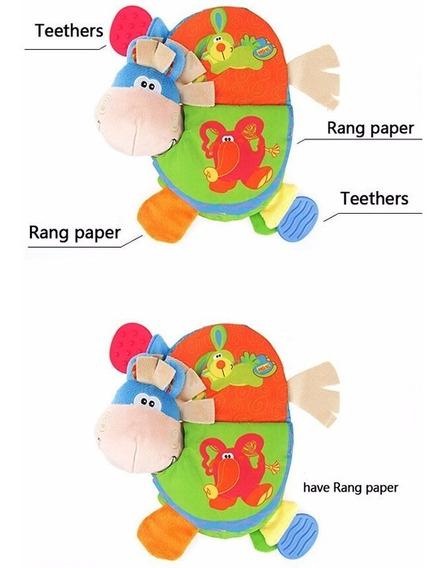 Livro De Pano Educativo Animais