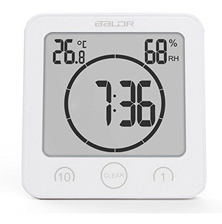 Reloj Temporizador Para Ducha Baldr Digital Led Impermeable
