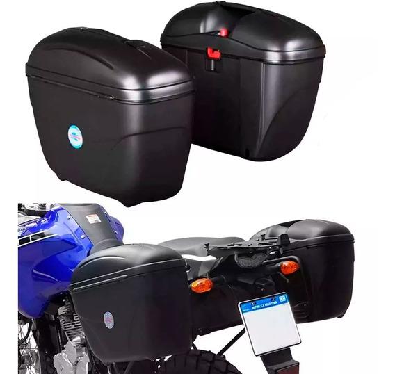 Baules Laterales Moto Par 21 Lts Universal Kappa Monokey Sti