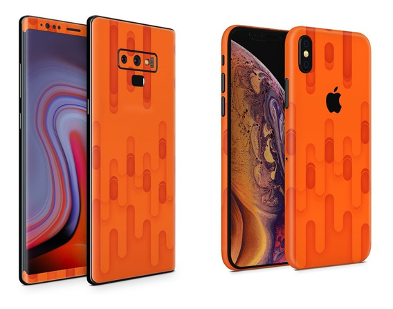 Skin Orange Melt Apple Samsung Huawei Lg Sony Xiaomi Etc
