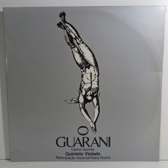 Quinteto Violado / Carlos Gomes 1986 O Guarani Lp Duplo