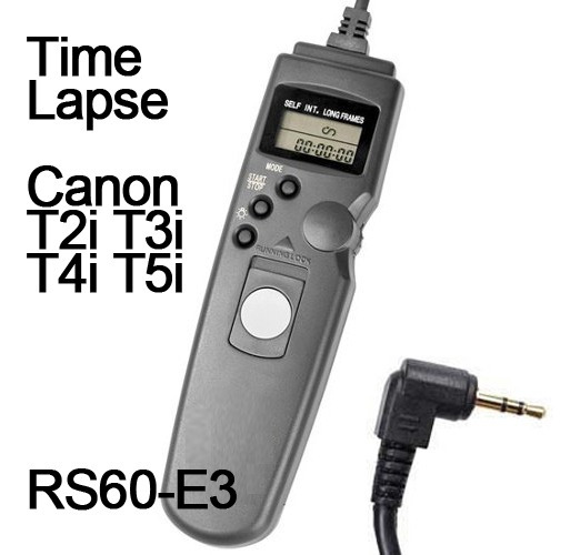 Cabo Disparador Time Lapse P/ Pentax K200d K20d K110d K100