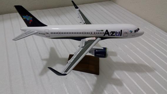 Miniatura De Avião A320 Neo Azul