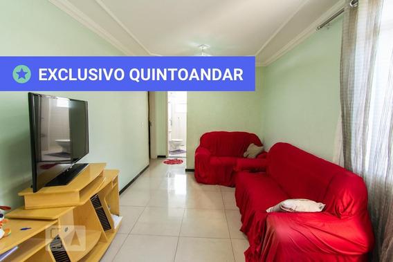 Apartamento No 3º Andar Mobiliado Com 2 Dormitórios E 1 Garagem - Id: 892947645 - 247645