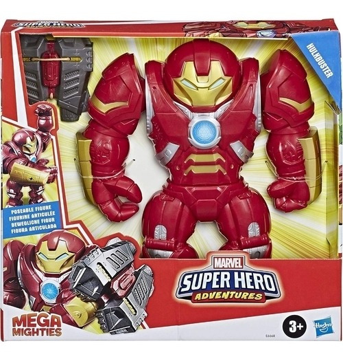 Boneco Mega Migties Hulkbuster - E6668 Hasbro