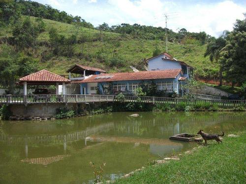 Chácara Residencial À Venda, Taquarí, São José Dos Campos. - Ch0053