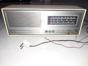 Rádio Antigo Telefunken Caprice Leia A Descrição