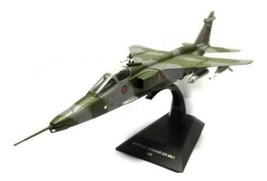 Avioes Combate A Jato Sapecat Jaguar Gr3 1/72 Com Revista