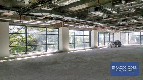 Laje Corporativa Para Alugar, 875m² - Itaim Bibi - São Paulo/sp - Lj0603