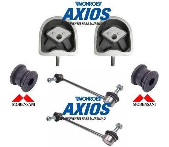 Kit Calços Coxim Motor Bielera Classe A 160 190 - Axios